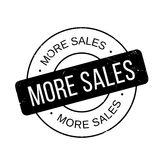 More Sales rubber stamp Stock Photography