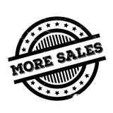 More Sales rubber stamp Royalty Free Stock Image