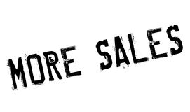 More Sales rubber stamp Royalty Free Stock Photo