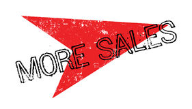 More Sales rubber stamp Royalty Free Stock Photography