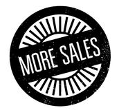 More Sales rubber stamp Stock Image