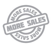 More Sales rubber stamp Stock Photo