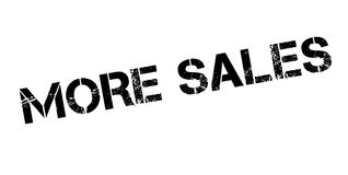 More Sales rubber stamp Royalty Free Stock Photos