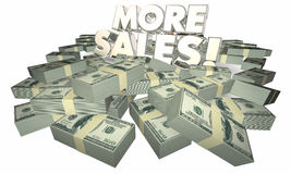 More Sales Selling Success Money Words