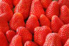 More strawberries. More delicious strawberries from the supermarket Stock Photo
