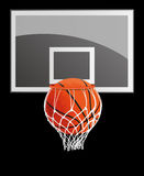 More_than_just_sport. Basket-ball - more than sport. It is a whole culture, show, gladness and happiness for many admirers Stock Image