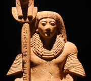 Ancient Egyptian statue, Luxor Museum at Egypt stock images
