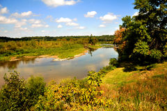 More Turkey River. A beautiful scene along the banks of the Turkey River stock photography
