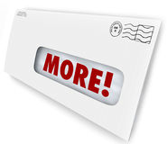More Word Envelope Increase Improve Results Marketing Mailing Stock Photography