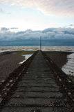 Morecambe Bay. In Great Britain Stock Photos