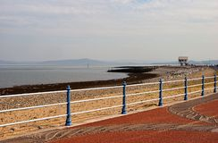 Morecambe beach Royalty Free Stock Photos