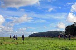 Morecambe fjärdvälgörenhet går Royaltyfria Foton