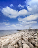 Morecambe zatoka Lancashire Obrazy Stock