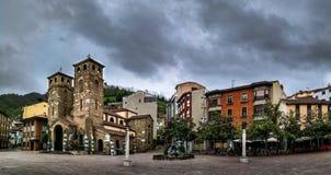 Moreda de Aller Asturien stockfotos