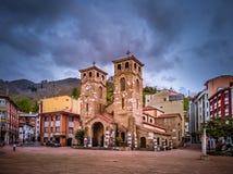 Moreda de Aller Asturien lizenzfreie stockfotografie