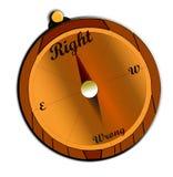 Moreel Kompas stock fotografie