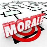 Moreel verbetert 3d Word Grafiek van Organiztion Werknemersaantal arbeidskrachten Atti Vector Illustratie