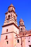 Morelia cathedral III. Cathedral of the city of Morelia, michoacan, mexico Stock Photo