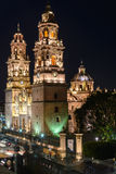 Morelia cathedral Royalty Free Stock Image
