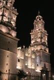 Morelia-Kathedrale, Mexiko. Lizenzfreie Stockfotografie