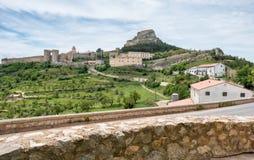 Morella κάστρο στοκ εικόνες