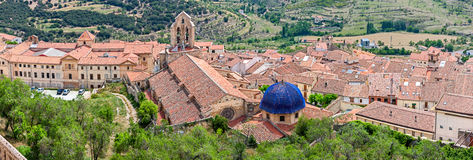 Morella Aerial View Stock Images
