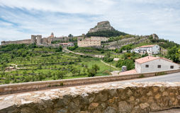 Morella castle Stock Images