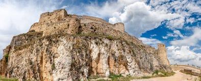Morella Castle Panorama Stock Photos