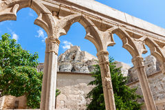 Morella Castle in Spain Royalty Free Stock Images