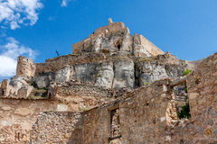 Morella Castle Royalty Free Stock Image