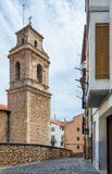 Morella castlein Spain Royalty Free Stock Photo