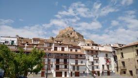 Morella Spanien Royaltyfri Bild