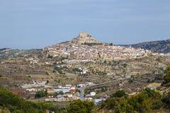 Morella, in Valencia, Spain Stock Images