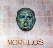 Morelos Bust Alhondiga de Granaditas Guanajuato Mexico Royalty Free Stock Image