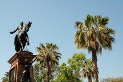 Morelos statue, Morelia (Mexico) Royalty Free Stock Image