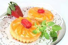 morelowy balsamu cytryny tarta Obraz Royalty Free