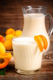 Morelowy milkshake obraz stock