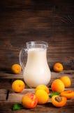 Morelowy milkshake obraz royalty free