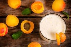 Morelowy milkshake zdjęcia stock