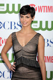 Morena Baccarin. LOS ANGELES - AUG 3:  Morena Baccarin arriving at the CBS TCA Summer 2011 All Star Party at Robinson May Parking Garage on August 3, 2011 in Stock Photos