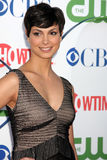 Morena Baccarin. LOS ANGELES - AUG 3:  Morena Baccarin arriving at the CBS TCA Summer 2011 All Star Party at Robinson May Parking Garage on August 3, 2011 in Royalty Free Stock Image