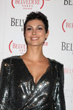 Morena Baccarin. LOS ANGELES - FEB 10:  Morena Baccarin arrives at the Belvedere RED Special Edition Bottle Launch at Avalon on February 10, 2011 in Los Angeles Royalty Free Stock Image