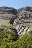 morena för chile clinkerglaciär nära peritolutningar Royaltyfri Foto