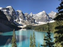 Morena jezioro na wspaniałym letnim dniu zdjęcie royalty free