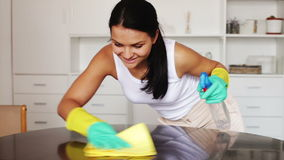 A morena limpa a casa filme