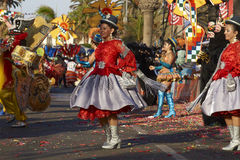 Morenada Dance Group - Arica, Chile Stock Image