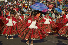 Morenada Dance Group - Arica, Chile Stock Photography