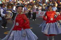 Morenada Dance Group - Arica, Chile Royalty Free Stock Photography