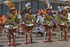 Morenada Dance Group in Arica, Chile Royalty Free Stock Photos