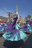 Morenada dance group at the Oruro Carnival in Bolivia Stock Image